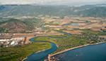 Manawatu River - aerial shot